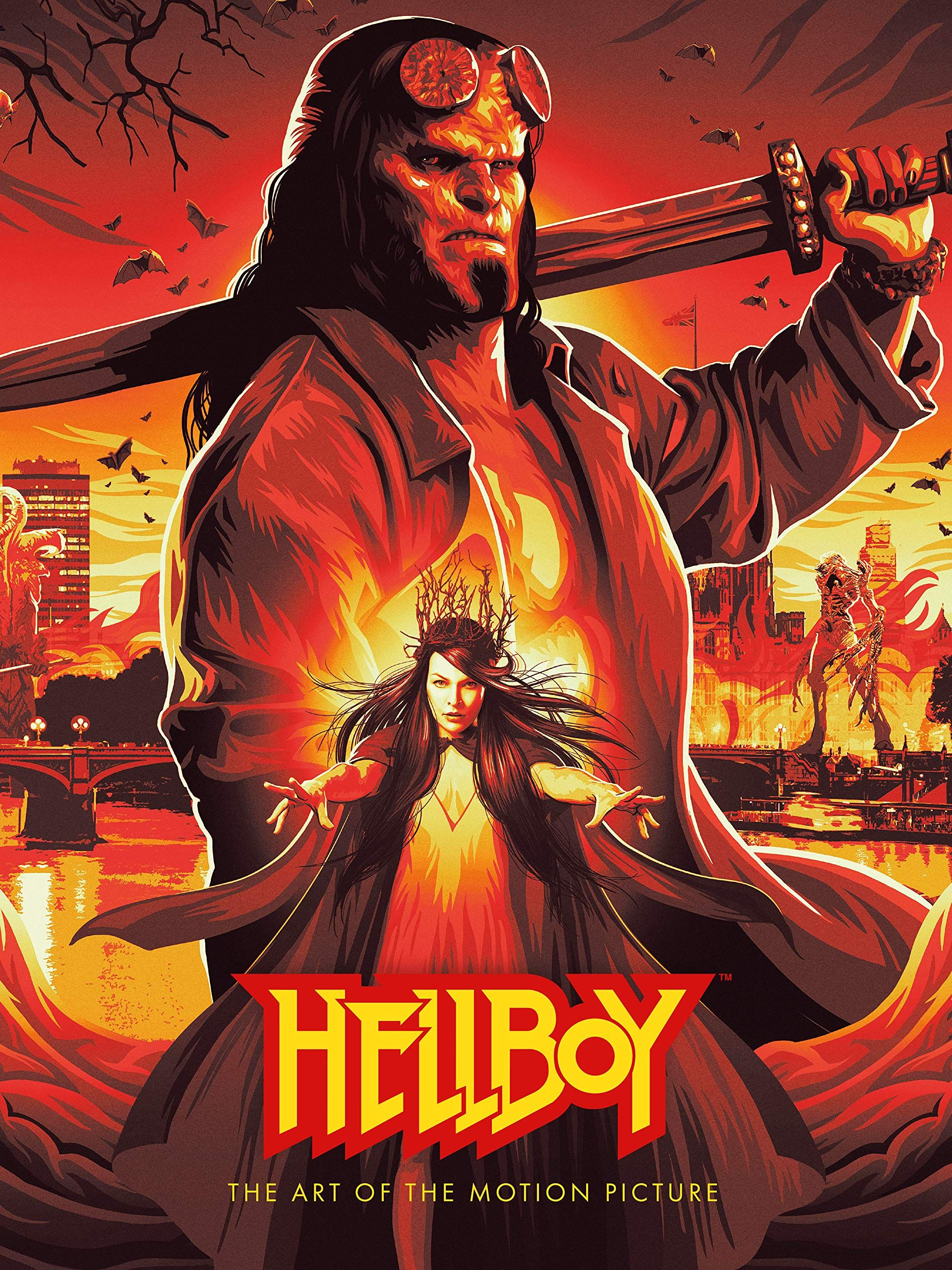 Hellboy The Art of The Motion Picture (2019) Hardcover