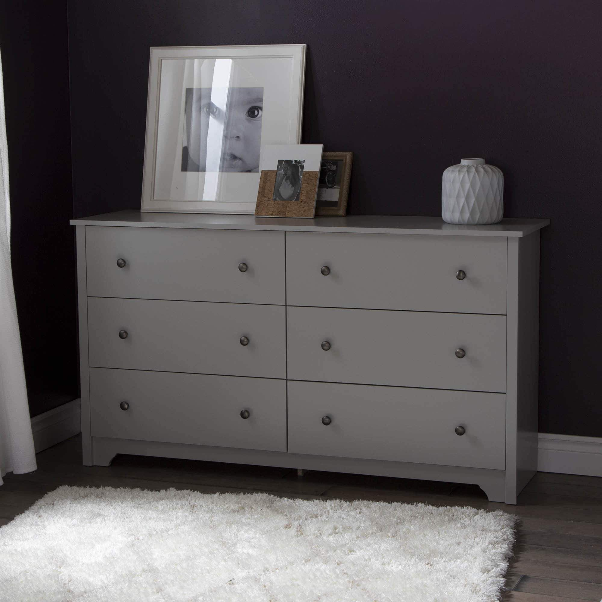South shore vito drawer double dresser double dresser and products