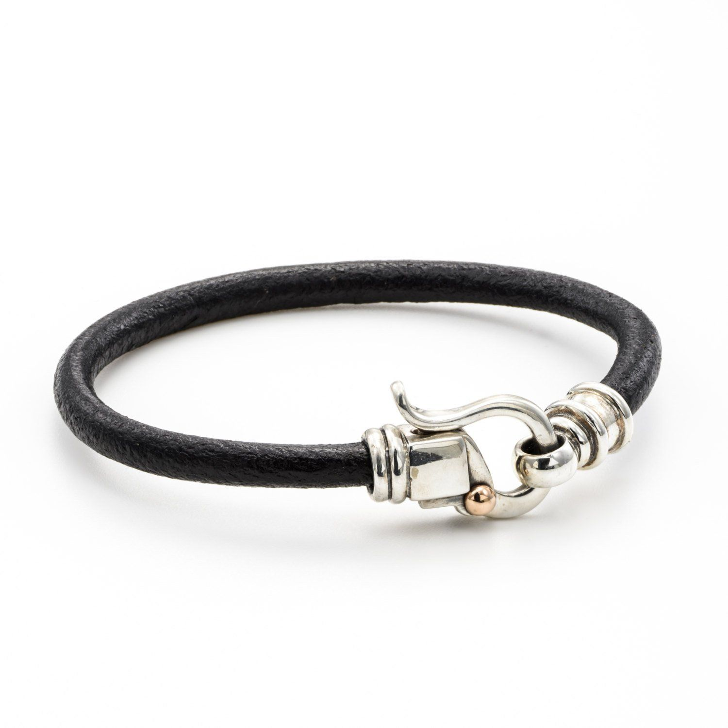 Leather silver bracelet womenands leather bracelet products