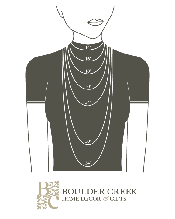 Necklace Length Chart | Jewelry Tips | Pinterest | Necklace ...