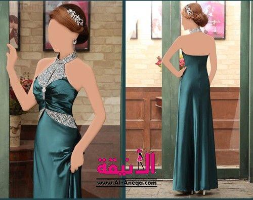 فساتين سهرة الكود 05009 السعر 450 ريال بدلا من 850 ريال متوفر بثلاث الوان ذهبي وردي غامق اخضر غامق المقاس Backless Dress Formal Dresses Prom Dresses
