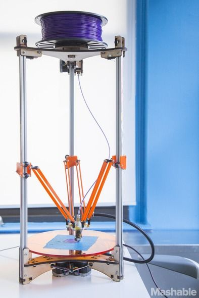 A new, affordable 3D printer designed by 4 college students - Deltaprintr costs $475…