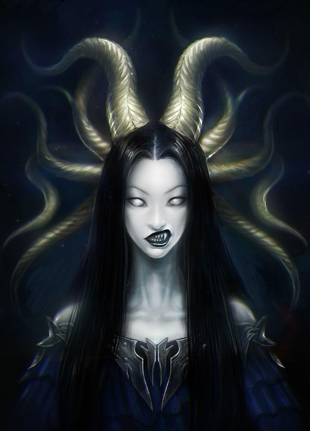 Demon Queen by anndr —-x—- More: | Demons | Random |CfD ...  Demon Queen by ...