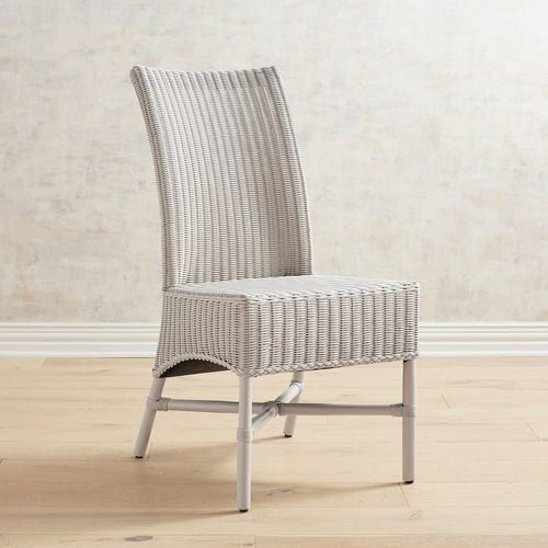 Warna Parchment Rattan Dining Chair Round Back Dining Chairs