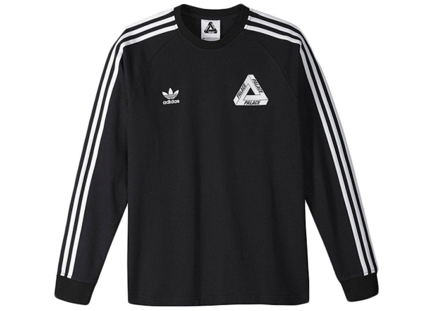 Palace Adidas Longsleeve Team Shirt Black En 2021 Ropa Compras Cosas Para Comprar [ 1000 x 1400 Pixel ]