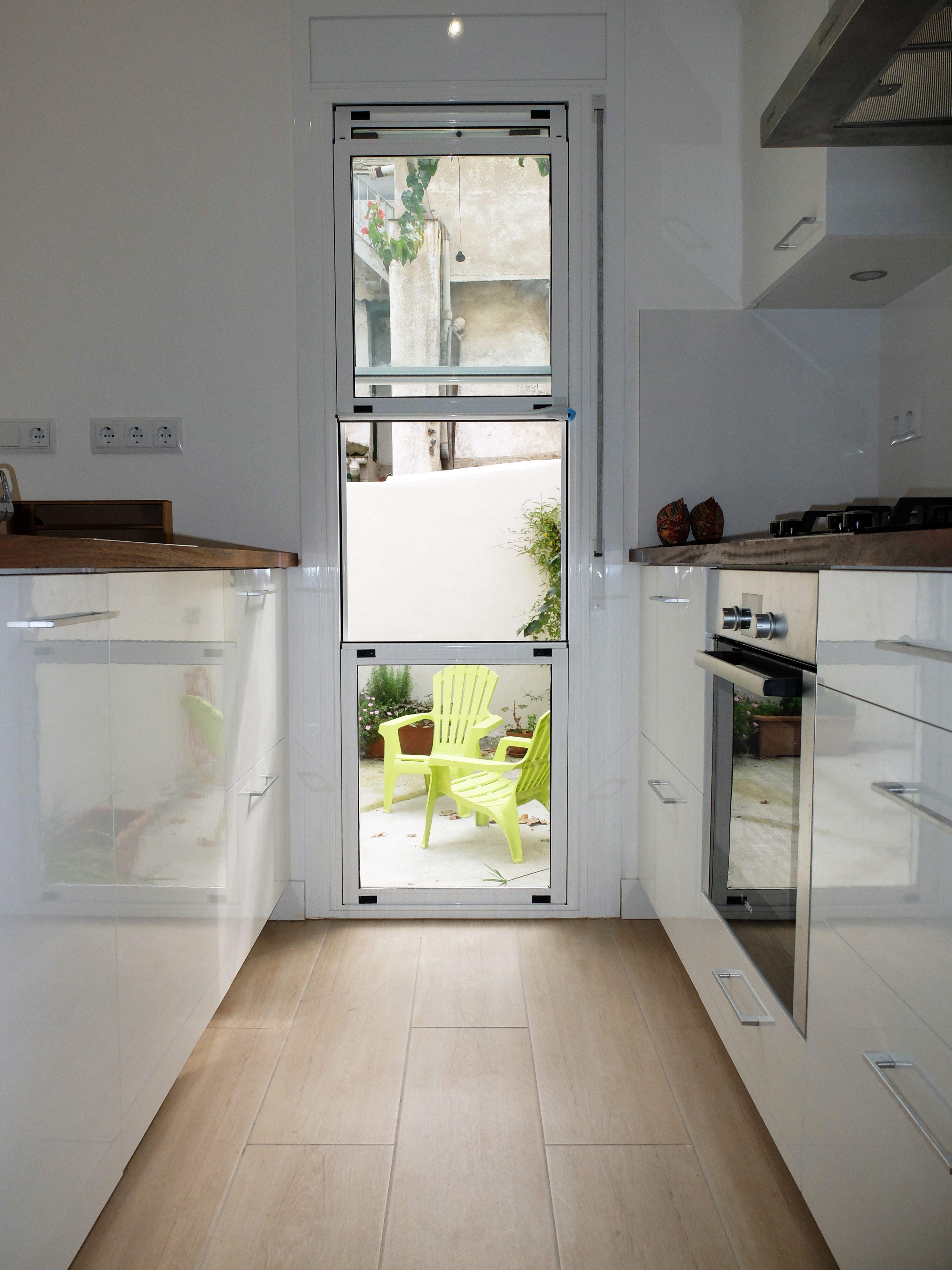 Reforma de cocina con pen nsula por accesible reformas - Accesible reformas ...