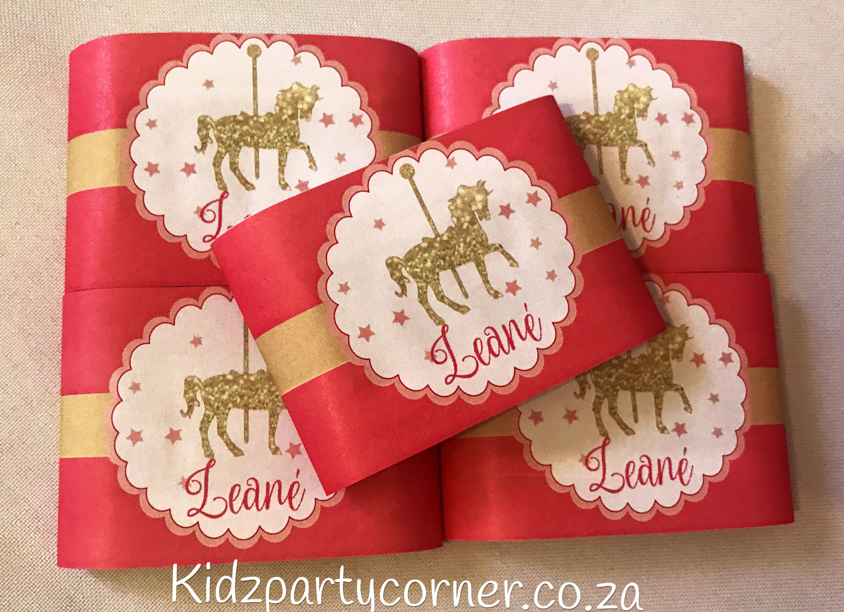 Enchanted Carousel Party Theme supplies, favours and decor. We design and create any theme for any occasion and age customised according to your specifications. Door to door courier country wide at affordable prices - unique and convenient. Styling and set-up packages available in Pretoria and Johannesburg at you own venue or at one of our Alberton venues. Visit our website www.kidzpartycorner.co.za or email Info@kidzpartycorner.co.za @KidzPartyCorner