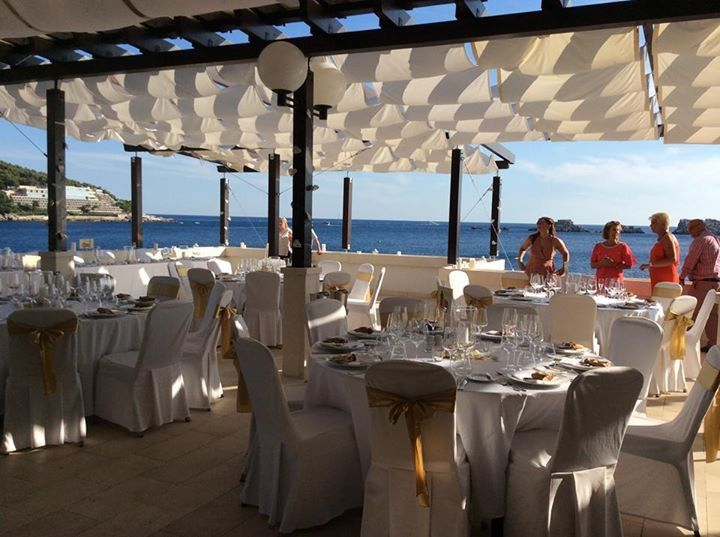 wedding reception importanne resort hotel neptun lounge
