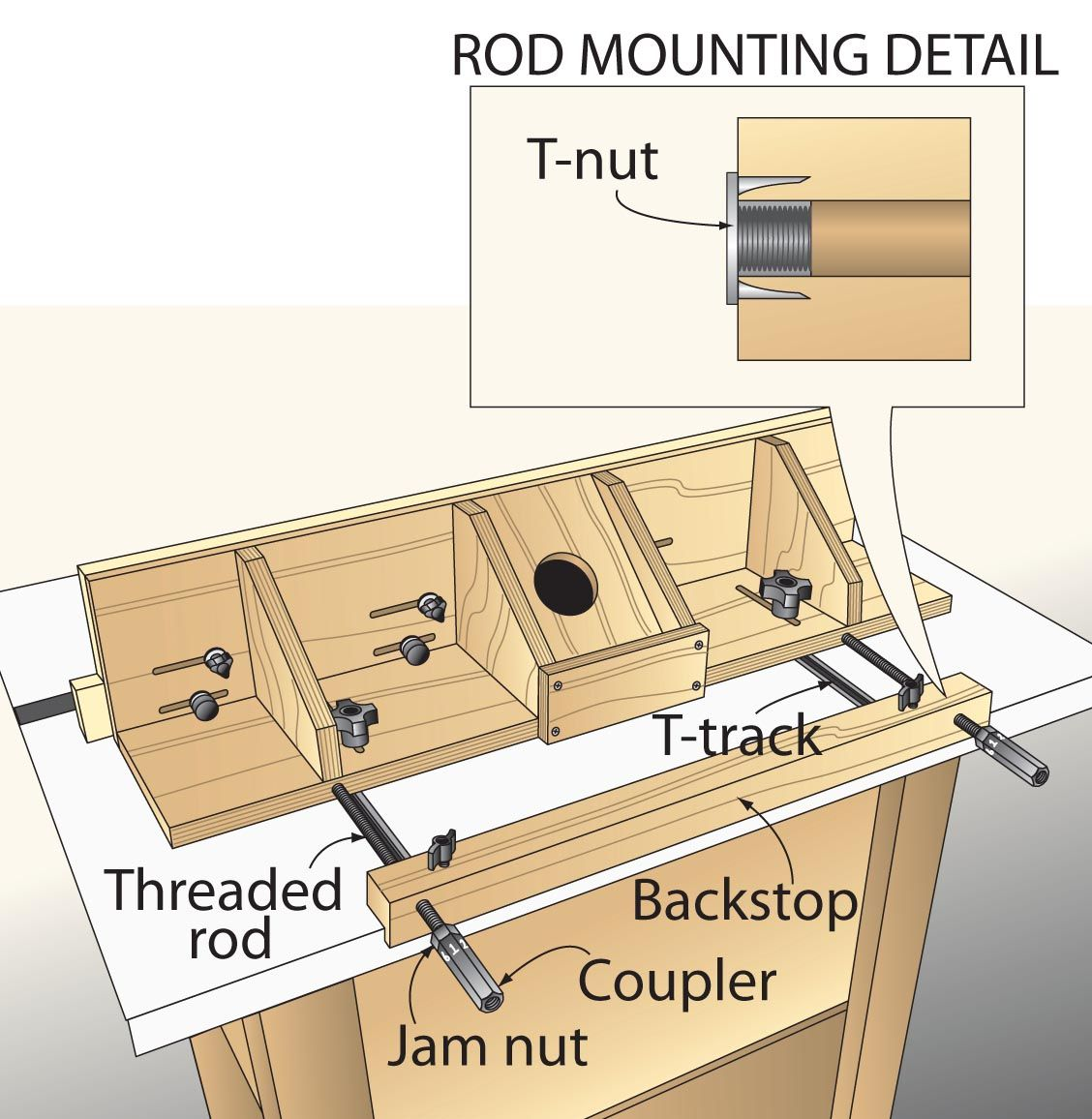 10 Minute Microadjuster Diy Router Router Woodworking Router Table