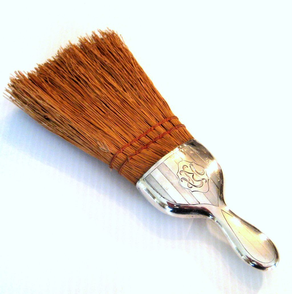 Antique Sterling Silver Whisk Broom By Alvin Mfg. Co., Circa 1910