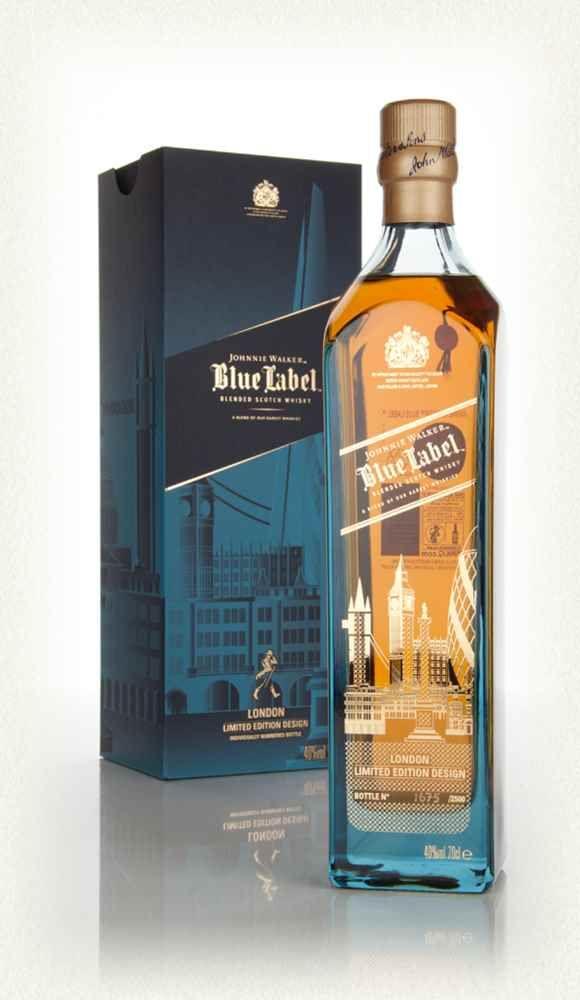Johnnie Walker Blue Label London Limited Edition Design