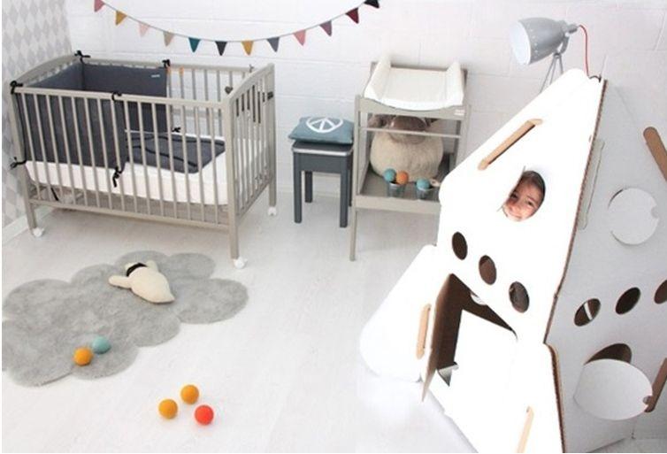Alfombras para dormitorio de bebe de piel con forma de - Alfombras habitacion bebe ...