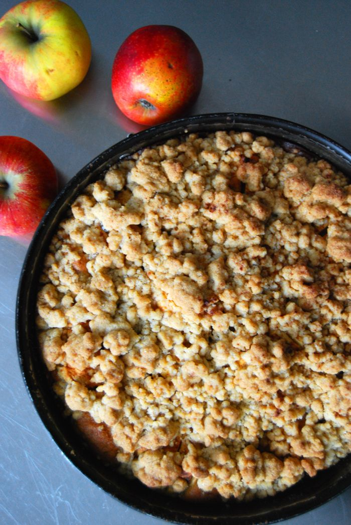 eat in my kitchen ° Apple Crumble Cake