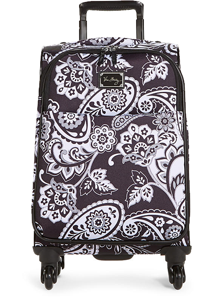 22'' Spinner in Midnight Paisley. Wow, a really perfect size for a weekend or carry on.