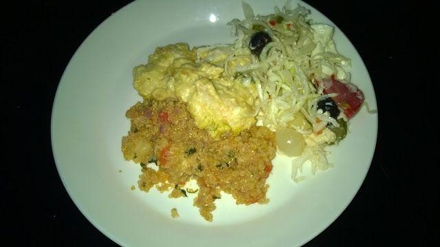 Tupun tupa: Broilerikastike ja sitruunainen quinoa