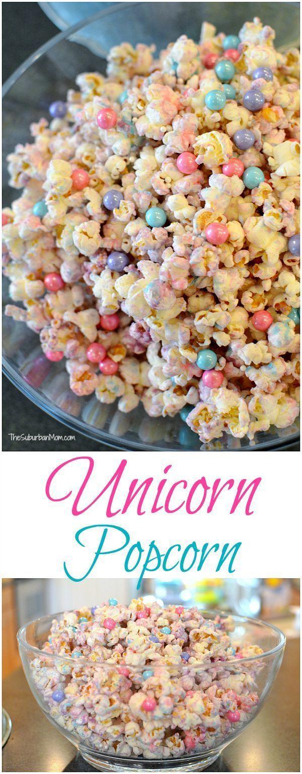 Einfach zu machen Einhorn Popcorn Rezept – The Suburban Mom – Carpe Diem Willkommen