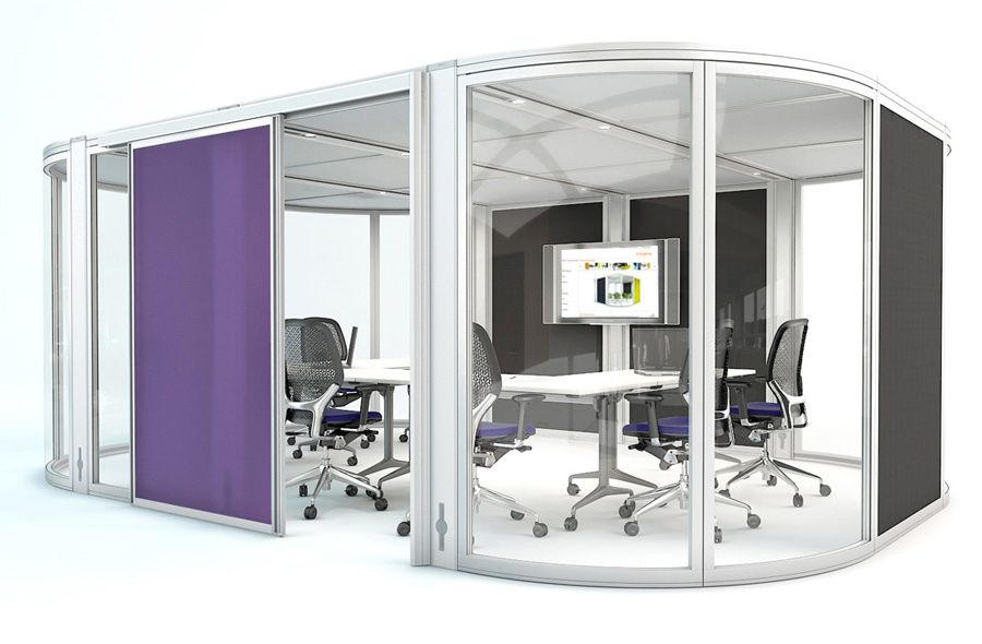 orangebox acoustic meeting pods office workstation pod