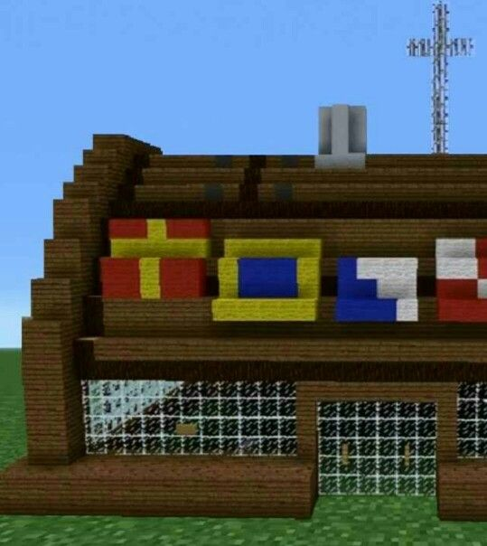 Minecraft Spongebob Krusty Krab