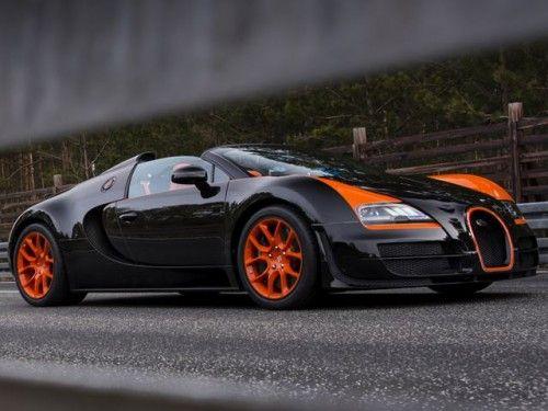 Bugatti Veyron Grand Sport Vitesse Wrc World Record Car Edition