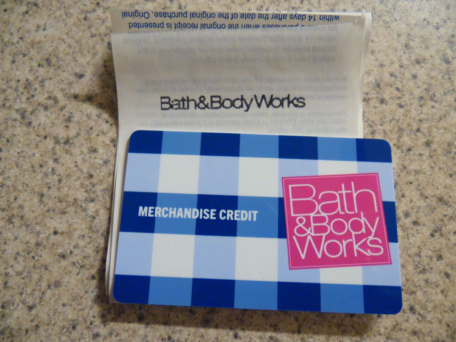 Coupons Giftcards Bath Body Works Merchandise Credit Card