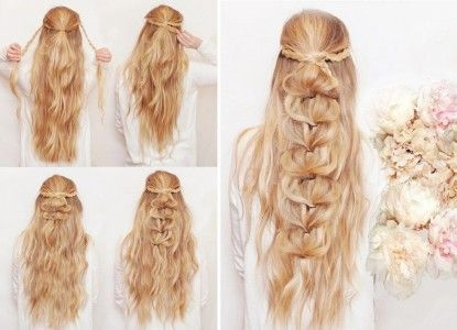 Trenzas modernas - 5 peinados sencillos paso a paso Peinados