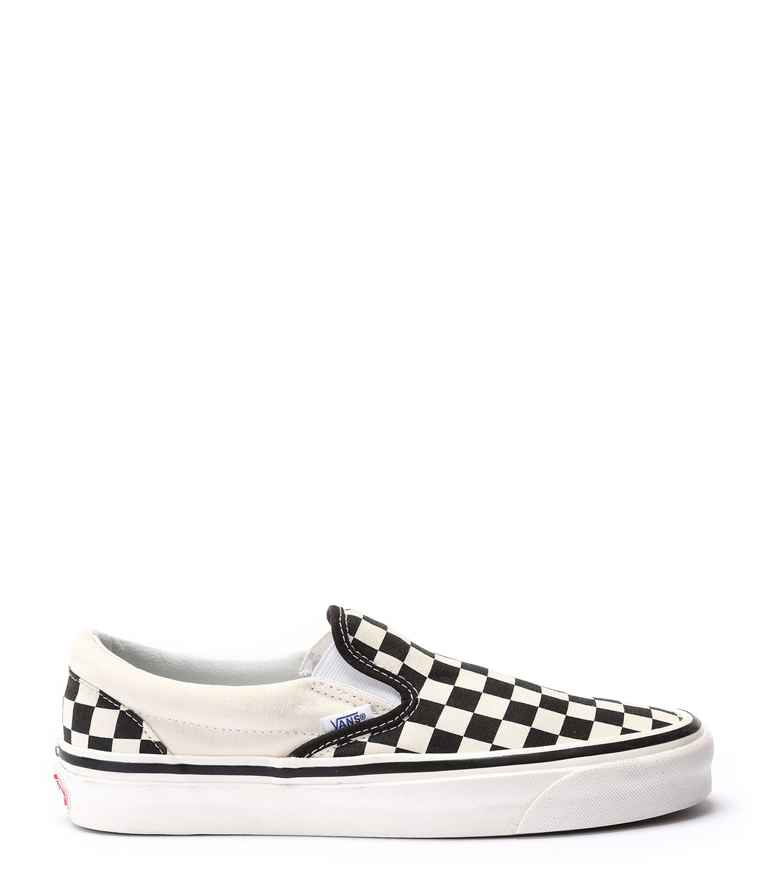 VANS - Baskets Slip-on 98 DX Damier Noir Blanc - Noir blanc ...