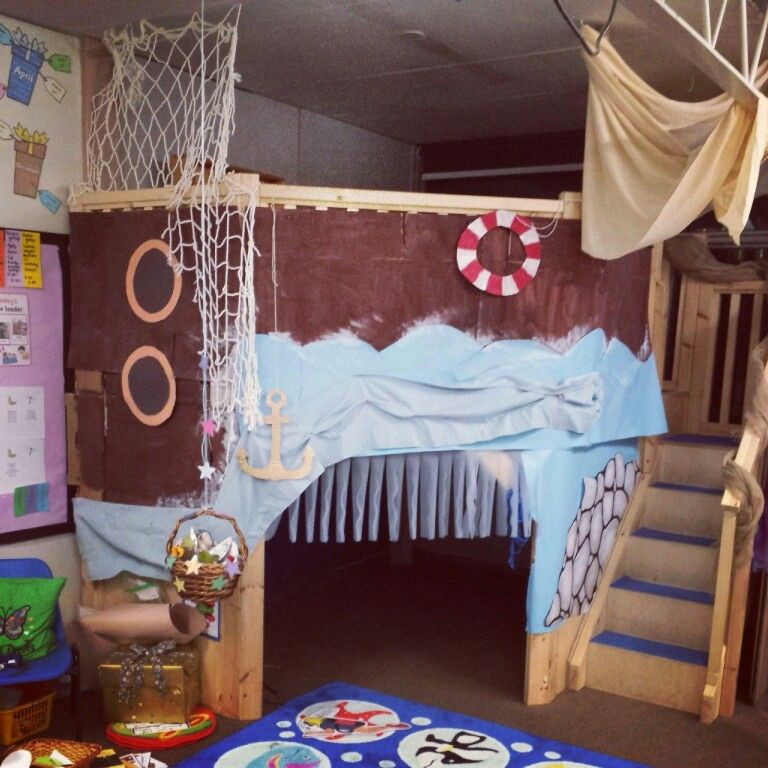 My Ship/boat Role Play Area In My Nursery Classroom