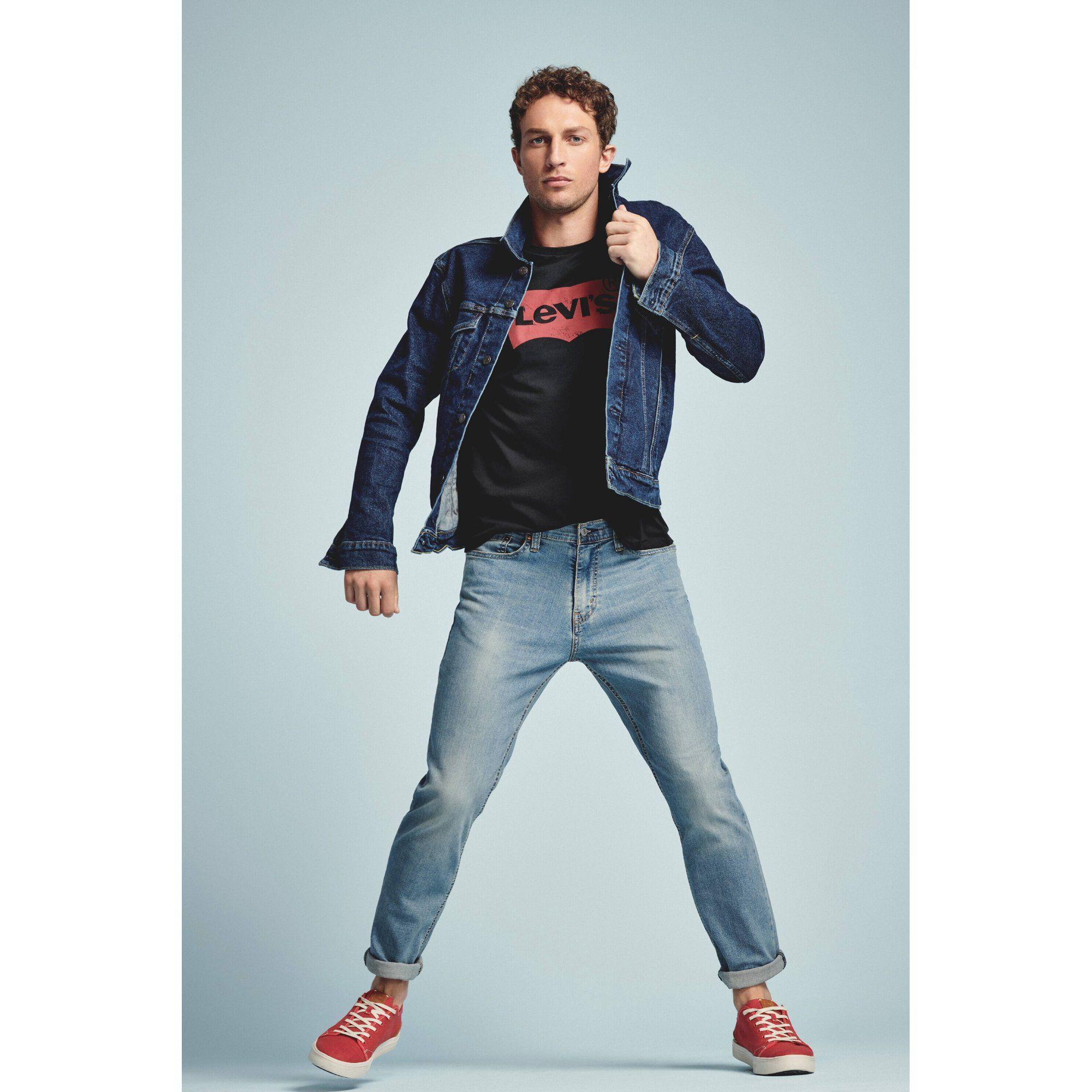 Levi S Levi S Men S Denim Trucker Jacket Walmart Com In 2020 Trucker Jacket Mens Denim Levi [ 2000 x 2000 Pixel ]