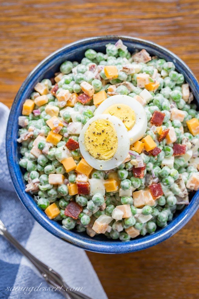 Pea Salad Recipe With Velveeta