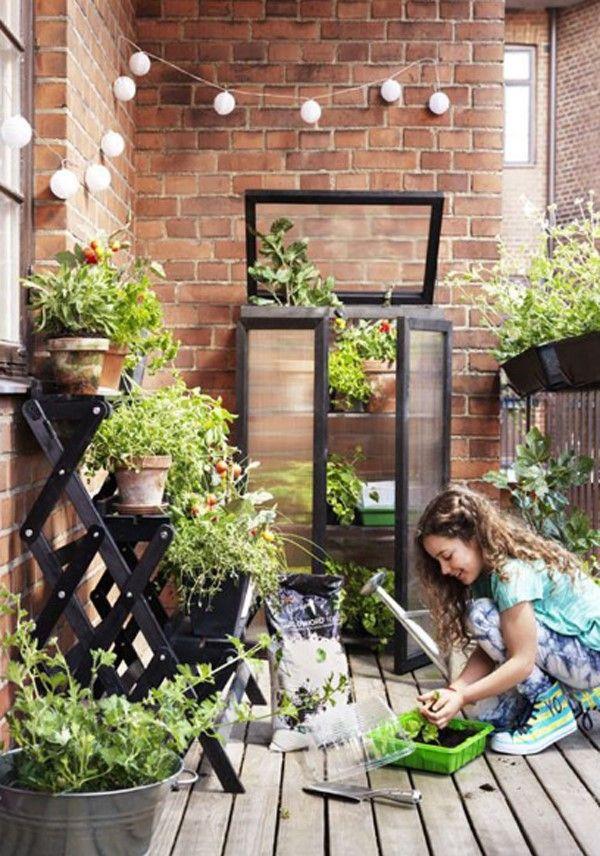 Balcony Garden: Love of Greenery - Unique Balcony & Garden Decoration and Easy DIY Ideas