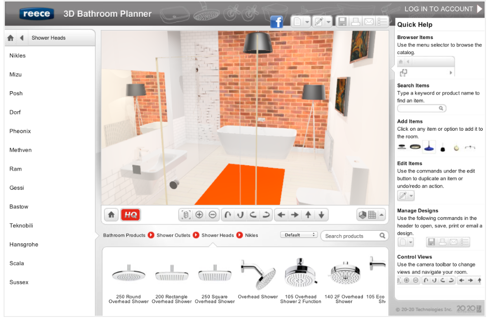 Virtual Bathroom Designer Free In 2020 Bathroom Planner