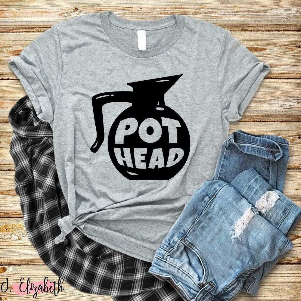 f11d230a983 Pot Head Graphic Tee Shirt Coffee Moore For Me Boutique J. Elizabeth ...