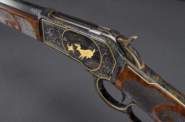 Winchester Model 1886 Deluxe 9 Engraved Serial 53XXX Mfg