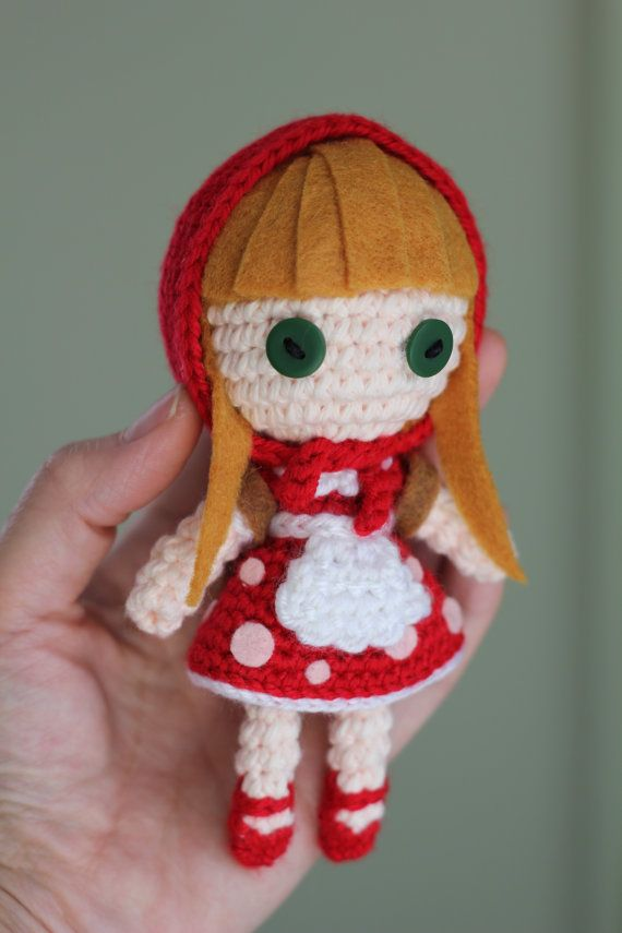 PATTERN: Red Riding Annie from League of Legends Crochet Amigurumi ...