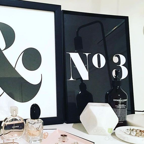 No. Print by AlsoKnownAsCreative on Etsy