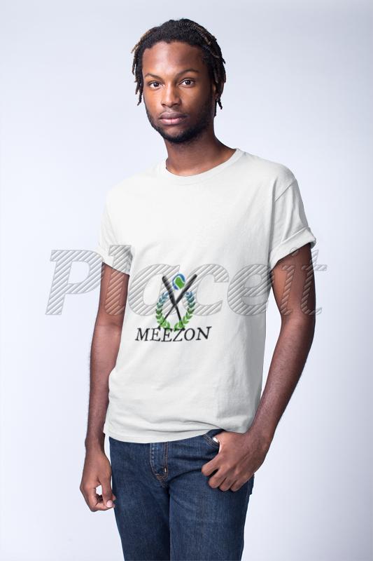 Download Young Black Man Wearing A Short Sleeved Tshirt Mockup In A White Room A19914 Tshirt Mockup Shirt Mockup Colorful Shirts