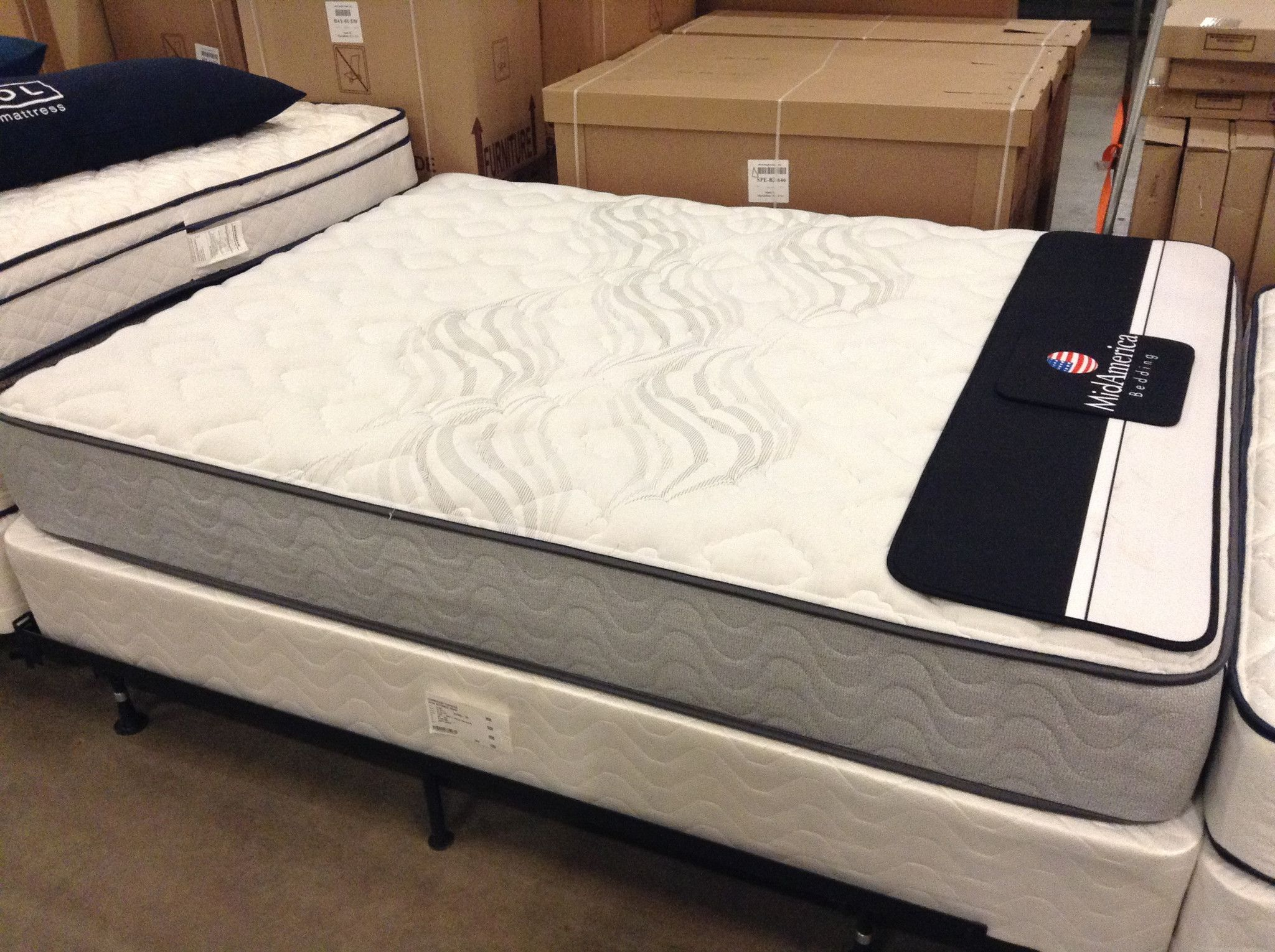 midamerica bedding madison plush mattress only products