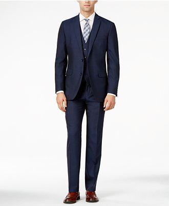 136646c404f Bar III Midnight Blue Slim-Fit Suit Separates - Bar III - Men - Macy's