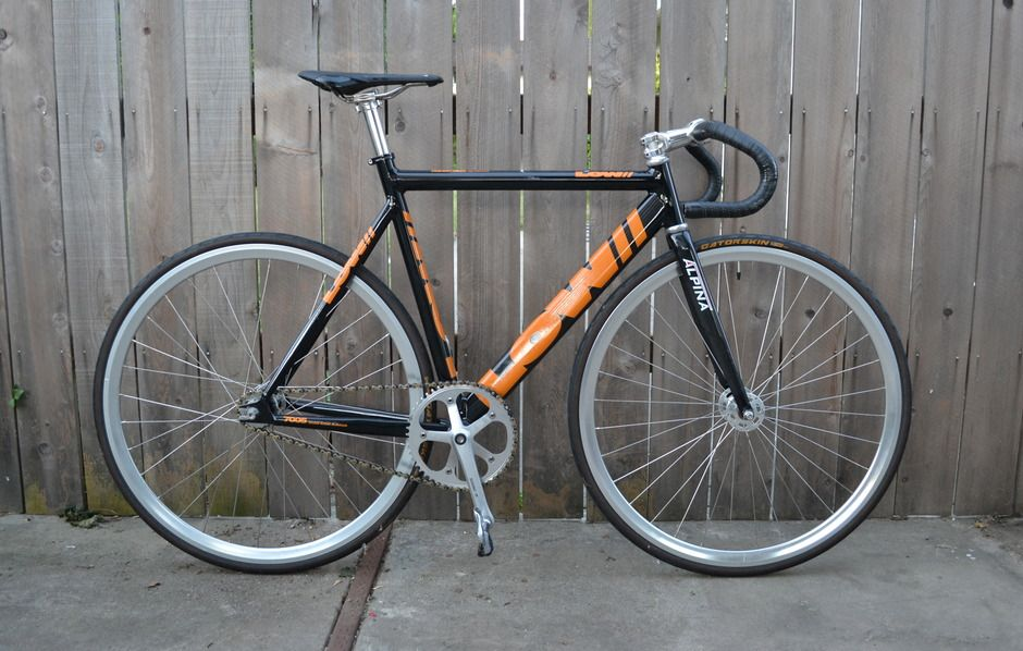 Low Track Standard on Bike Showcase