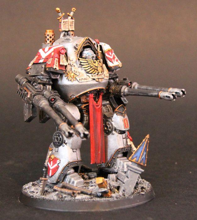 Greay Knights Contemptor Dreadnought By John Ashton