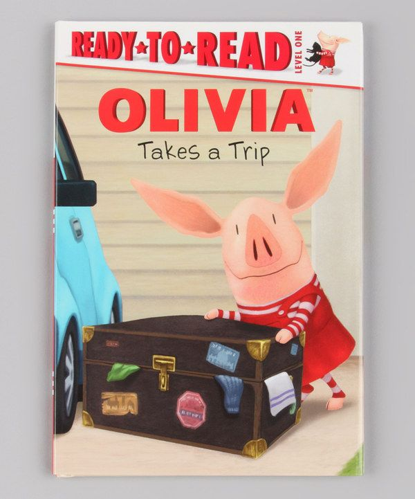 Love this Olivia Takes a Trip Hardcover by OLIVIA on #zulily! #zulilyfinds