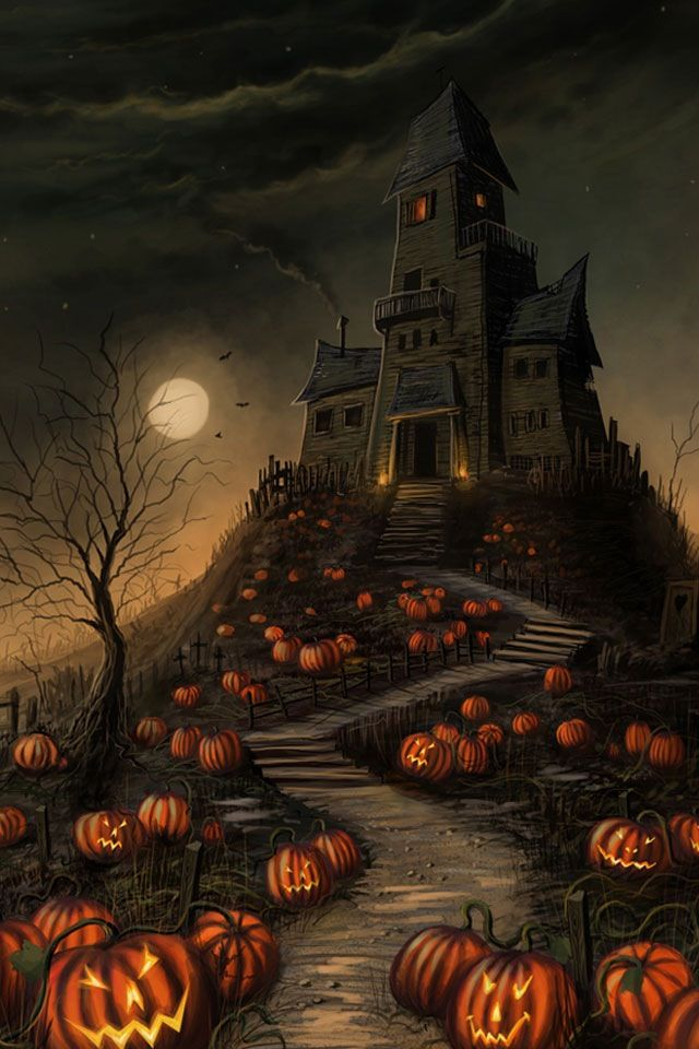 halloween cell phone wallpapers Google Search