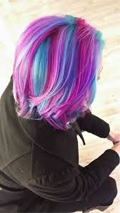 Image Result For Short Mermaid Hair Color Mermaid Hair Color Short Rainbow Hair Mermaid Hair