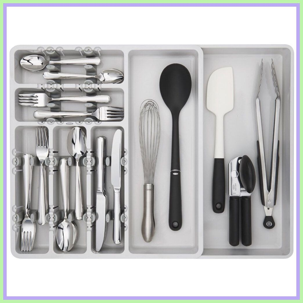 83 Reference Of Expandable Drawer Dividers Uk In 2020 Kitchen Drawer Organization Utensil Organization Large Utensils