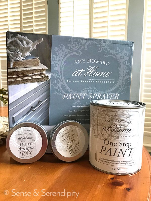 DIY Faux Fireplace Makeover | Sense & Serendipity | Amy Howard at Home One Step Paint