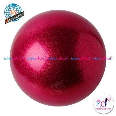 Pelota de Gimnasia  Rítmica Pastorelli glitter-HV-frambuesa ... 8e09193ede28