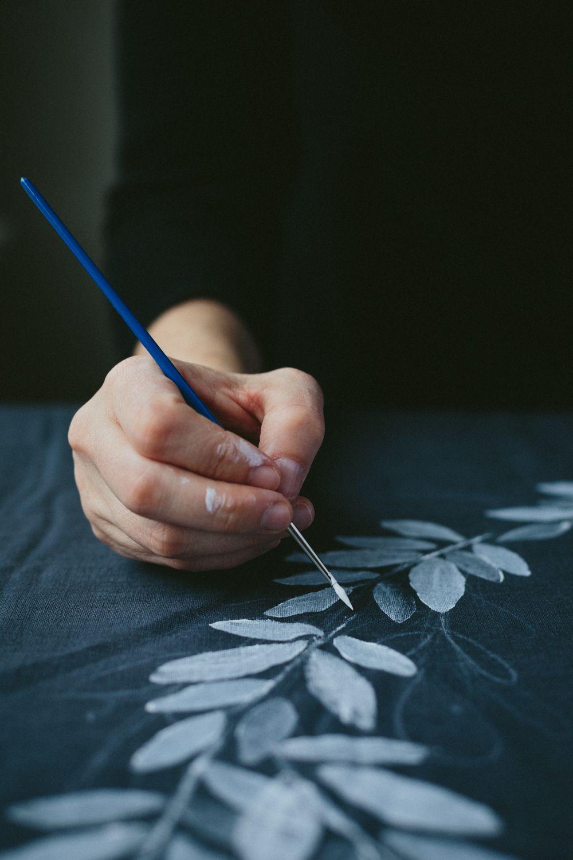 DIY Hand-printed Textiles