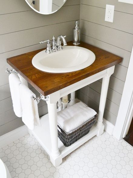 7 DIY Bathroom Vanities You Can Make | Made + Remade