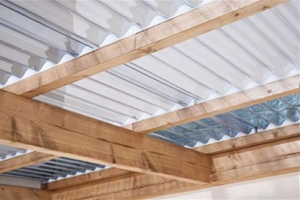 Vistalux Asbestos Profile 3 Quot Lightweight Sheet Clear 762mm X 2135mm X 0 8mm Roofing Sheets Roofing Flat Roof