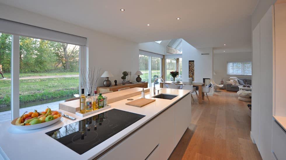 Eigentijdse woning den haag keuken door bongers architecten in